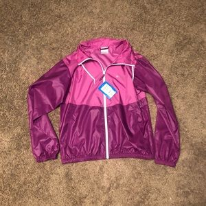 💕PINK COLUMBIA WINDBREAKER💕